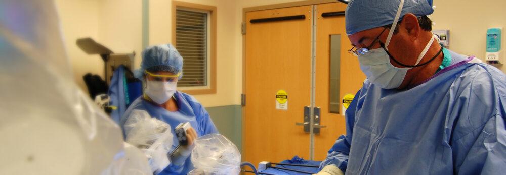 Colorado Bariatric Surgery Institute surgery in progress