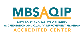 MBSAQIP Accredited Center logo